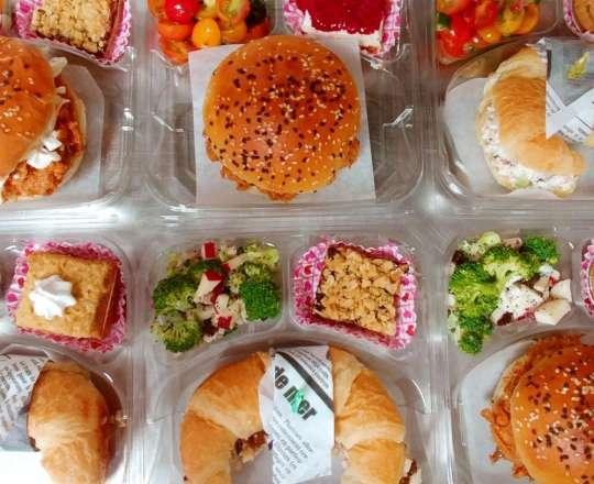 Boîtes à Lunch Sandwichs